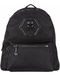"Philipp Plein ""don't Ever Give Up"" Backpack - Black"