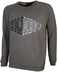 Marc Jacobs - Grey Melange Loopback Cotton Sweatshirt - Lyst
