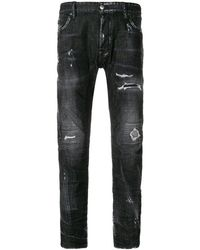 DSquared² - Skater Jeans Dark Grey - Lyst