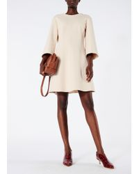 Tibi - Bond Stretch Knit Wrap Back Dress - Lyst