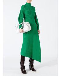 Tibi - Merino Rib Origami Wrap Skirt - Lyst