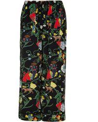 Tibi - Seville Printed Pajama Pants - Lyst