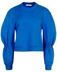 Tibi - Sculpted Sleeve Sweatshirt - Lyst