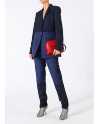 Tibi - Quilted Combo Joggers - Lyst