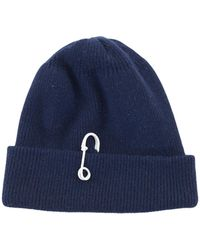 Tibi - Cashmere Wool Beanie With Pin Detail - Lyst