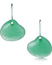 Tiffany & Co. - Cat Island Isle Shell Earrings - Lyst