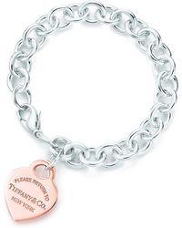 Tiffany & Co. - Heart Tag Bracelet - Lyst