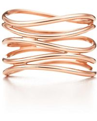 Tiffany & Co. - Wave Five-row Ring - Lyst