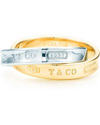 Tiffany & Co. - Interlocking Circles Ring - Lyst