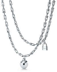 Tiffany & Co. - Tiffany City Hardwear Wrap Necklace In Sterling Silver - Lyst