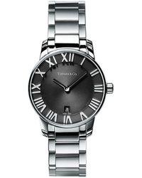 Tiffany & Co. - Atlas. 2-hand 29 Mm Women's Watch In Stainless Steel - Lyst