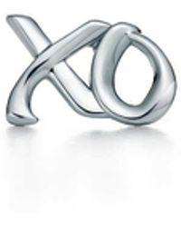 Tiffany & Co. - Love & Kisses Single Earring - Lyst