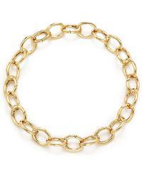 Tiffany & Co. - Clasping Link Bracelet In 18k Gold, Medium - Lyst