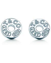 Tiffany & Co. - Circle Earrings - Lyst