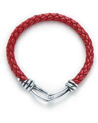 Tiffany & Co. - Knot Single Braid Bracelet - Lyst