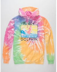 Pink Dolphin - Blossom Portrait Mens Hoodie - Lyst
