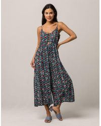 Patrons Of Peace - Floral Womens Jumpsuit - Lyst