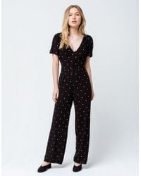 Amuse Society - On The Bright Side Womens Jumpsuit - Lyst