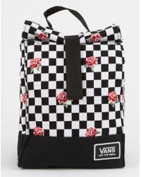 Vans - Mow Rose Checkerboard Lunch Bag - Lyst