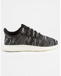 adidas - Tubular Shadow Core Black & Aero Pink Womens Shoes - Lyst
