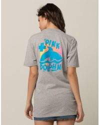 Pink Dolphin - Vintage Leap Womens Tee - Lyst
