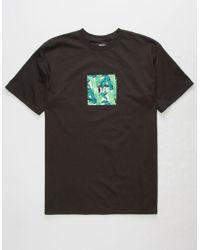Huf - Foliage Box Black Mens T-shirt - Lyst