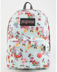 Jansport - X Disney Blooming Minnie Superbreak Backpack - Lyst