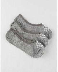 Vans - 3 Pack Basic Womens Canoodle Socks - Lyst