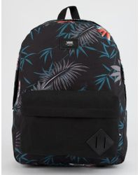 ec17012b48 Vans - Old Skool Ii Peace Out Floral Backpack - Lyst