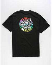 Santa Cruz - Merge Dot Mens T-shirt - Lyst