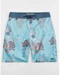 Billabong - Sundays Og Harbor Blue Mens Boardshorts - Lyst