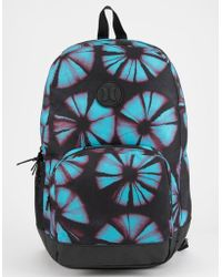 Hurley - Blockade Tropics Black Backpack - Lyst