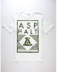 Asphalt Yacht Club - Delta Lockup Mens T-Shirt - Lyst