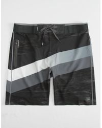 Rip Curl - Mirage Mf React Ultimate Black & Grey Mens Boardshorts - Lyst