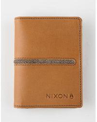 Nixon - Coastal Rf Bi-Fold Card Wallet - Lyst