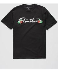 Primitive - Nuevo Dos Flores Mens T-shirt - Lyst