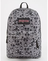 Jansport - X Disney Grey Rabbit Mickey Superbreak Backpack - Lyst