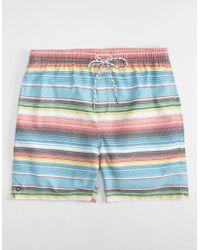 Micros - Blanket Stripe Mens Boardshorts - Lyst