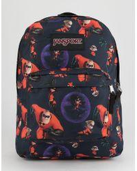Jansport - X Disney Pixar Incredibles 2 Family Time Superbreak Backpack - Lyst