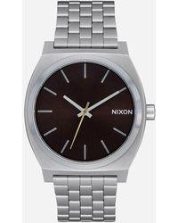 Nixon - Time Teller Dark Cedar Watch - Lyst
