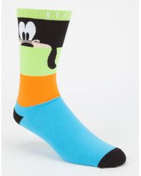 Neff - Disney Collection Look Out Goofy Mens Socks - Lyst