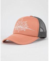 98983abd44b Lyst - O neill Sportswear Beach Garden Womens Trucker Hat in Black