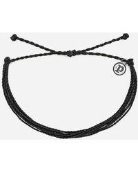 Pura Vida - Muted Black Bracelet - Lyst