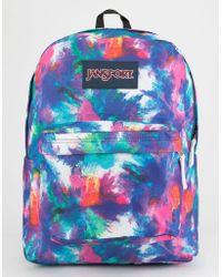 Jansport - Superbreak Dye Bomb Backpack - Lyst