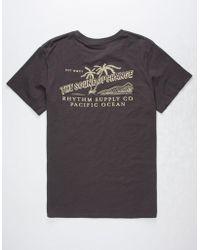 Rhythm | Postcard Mens T-shirt | Lyst