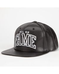 Hall of Fame - Arc Mens Snapback Hat - Lyst