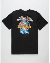 Loser Machine - X Pabst Blue Ribbon American Og Mens T-shirt - Lyst