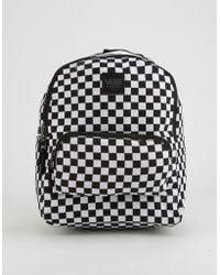 Vans - Checkered Mini Backpack - Lyst