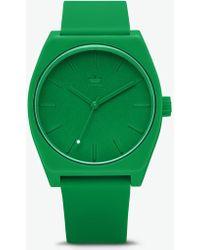 fec828e956f1 Lyst - adidas 'adizero Basic Mid' Digital Watch in Blue