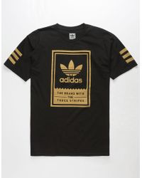 adidas - Gold Classic Mens T-shirt - Lyst